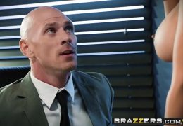 Brazzers – Big Tits at Work – Spilling The Boobs scene starring Isis Love and Johnny Sins