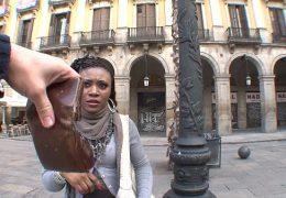 Black african immigrant girl fucks for money