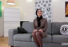 VIP SEX VAULT – Slovak babe Lucia Denville takes big cock in naughty audition