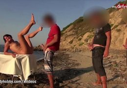 My Dirty Hobby – Nympho gets drilled on the beach