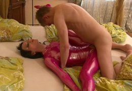 crazy sex with my real spandex doll